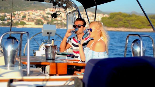 3 day luxury sailing along the Dalmatian coast and sunny islands