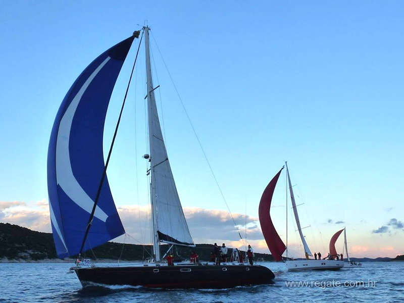 Bogey 1 Regatta Night Sailing