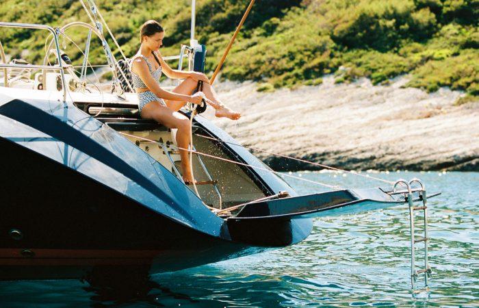 Bogey 1 Sailing Yacht Swimming Platform