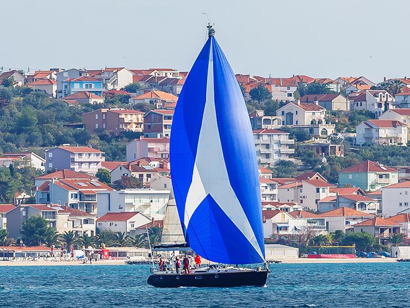 Bogey 1 Gennaker Sailing