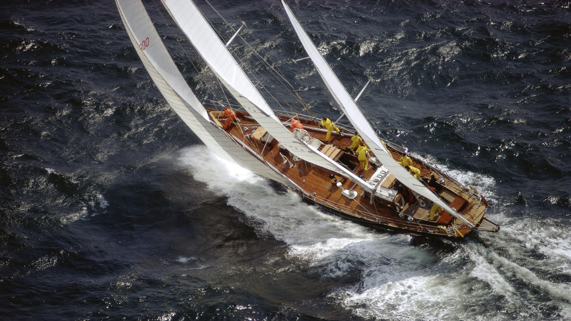 There are older sailing yachts that are much better and have