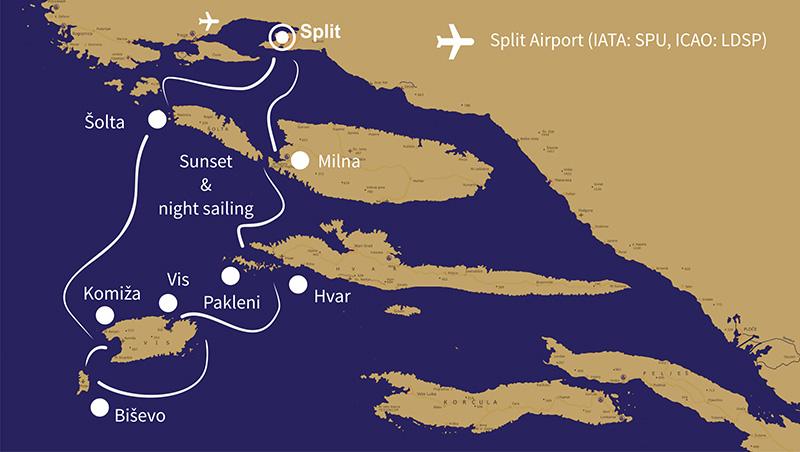 4 days split millennium route
