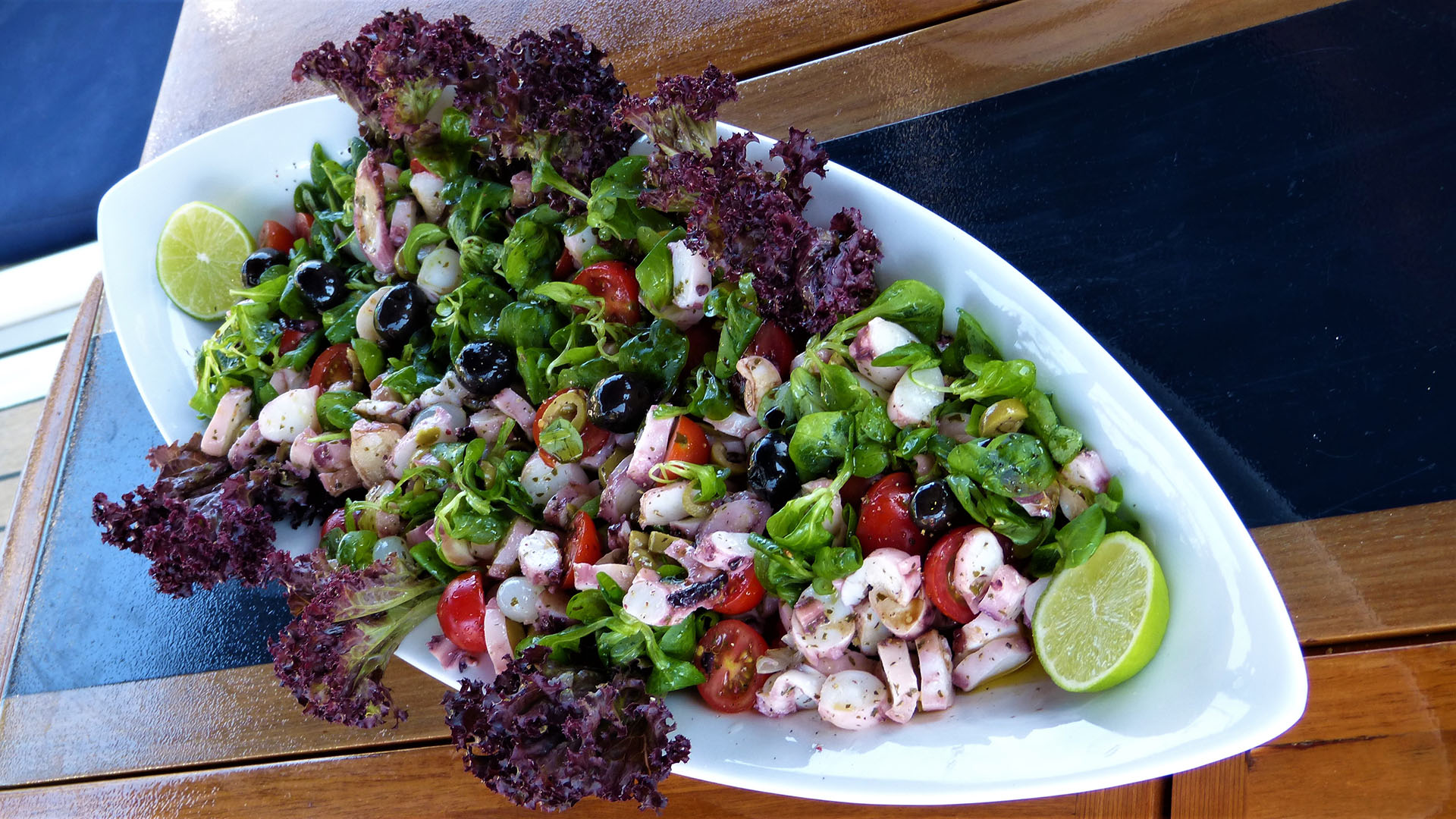 Bogey Dish Octopus salad