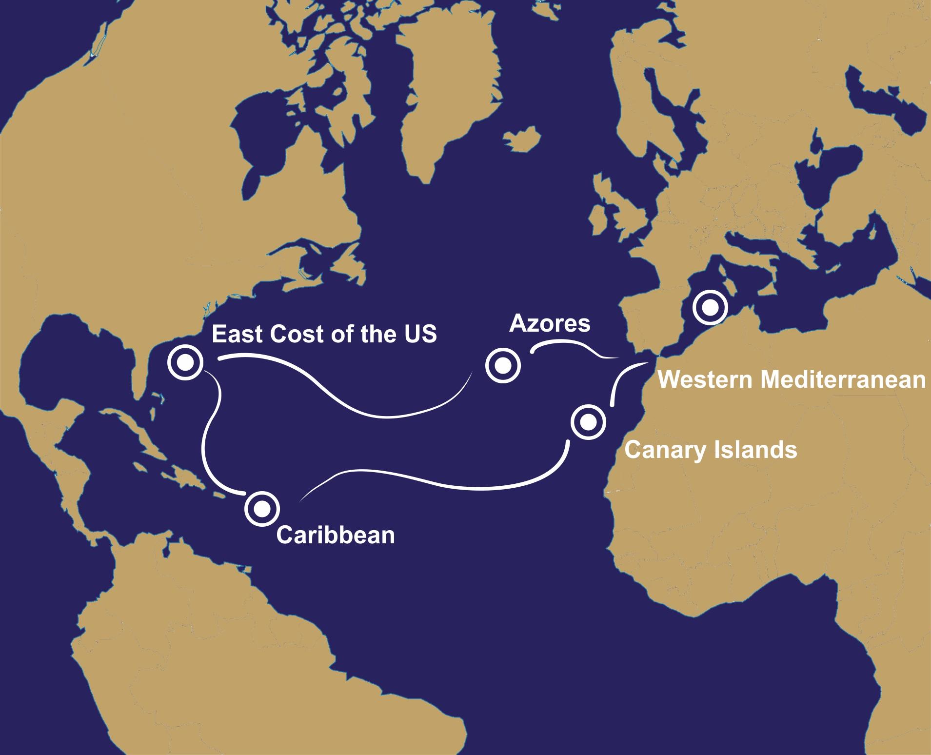 MAR Mediteran Atlantik Ruta